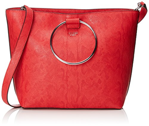 Borse Donna Hwlz69 Keaton Guess poppy 58230 Tote Rosso q1OnSF8xW