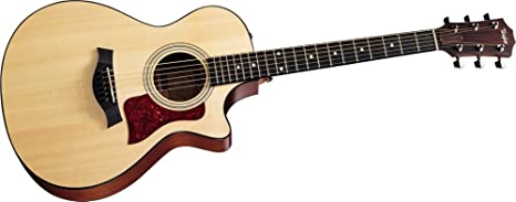 Guitarras Taylor 312 ce Grand concierto acústico guitarra eléctrica