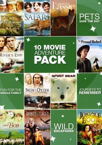 10-Movie Family Adventure Pack 1 [DVD] [Region 1] [US Import] [NTSC]