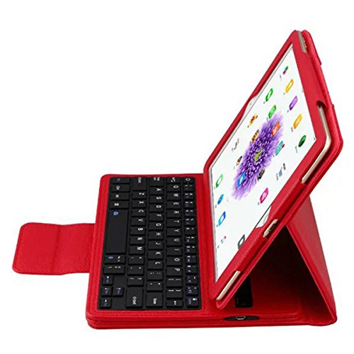 OLSUS Folding Wireless Keyboard for IPAD Air/Air 2/Pro2 9.7''- Red by OLSUS (Image #5)
