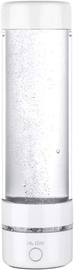 Amazon.com: Hydrogen generator, H2 Life Hydrogen BOTTLE, PEM Technology Ionizer, High concentration, Ozone and chlorine Release, USB charging, White: Kitchen & Dining