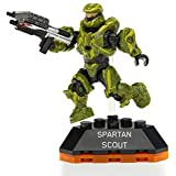 Mega Bloks Halo Heroes Series 2 Spartan Scout Figure #4