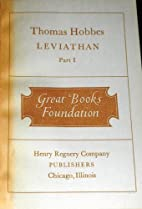 Leviathan, part I (Great Books Foundation)…