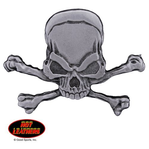 Hot Leathers EVIL PIRATE SKULL /& CROSSBONES Original Artwork Lead Free PIN Officially Licensed Originals