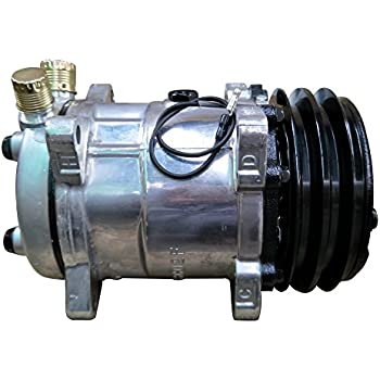 Universal A/C Compressor with Black 2PK Clutch Sanden 508 5H14 R134A