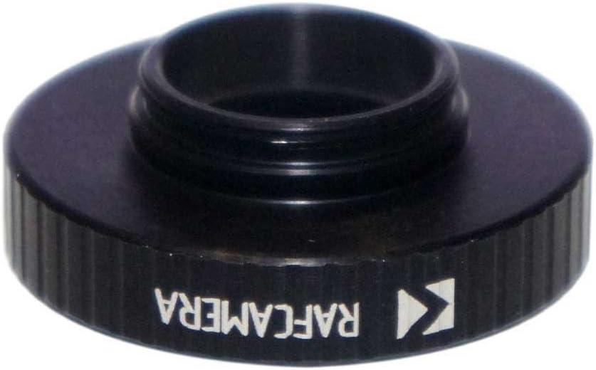 M32x0.75 Female to M19x0.7 Male Thread Adapter Black