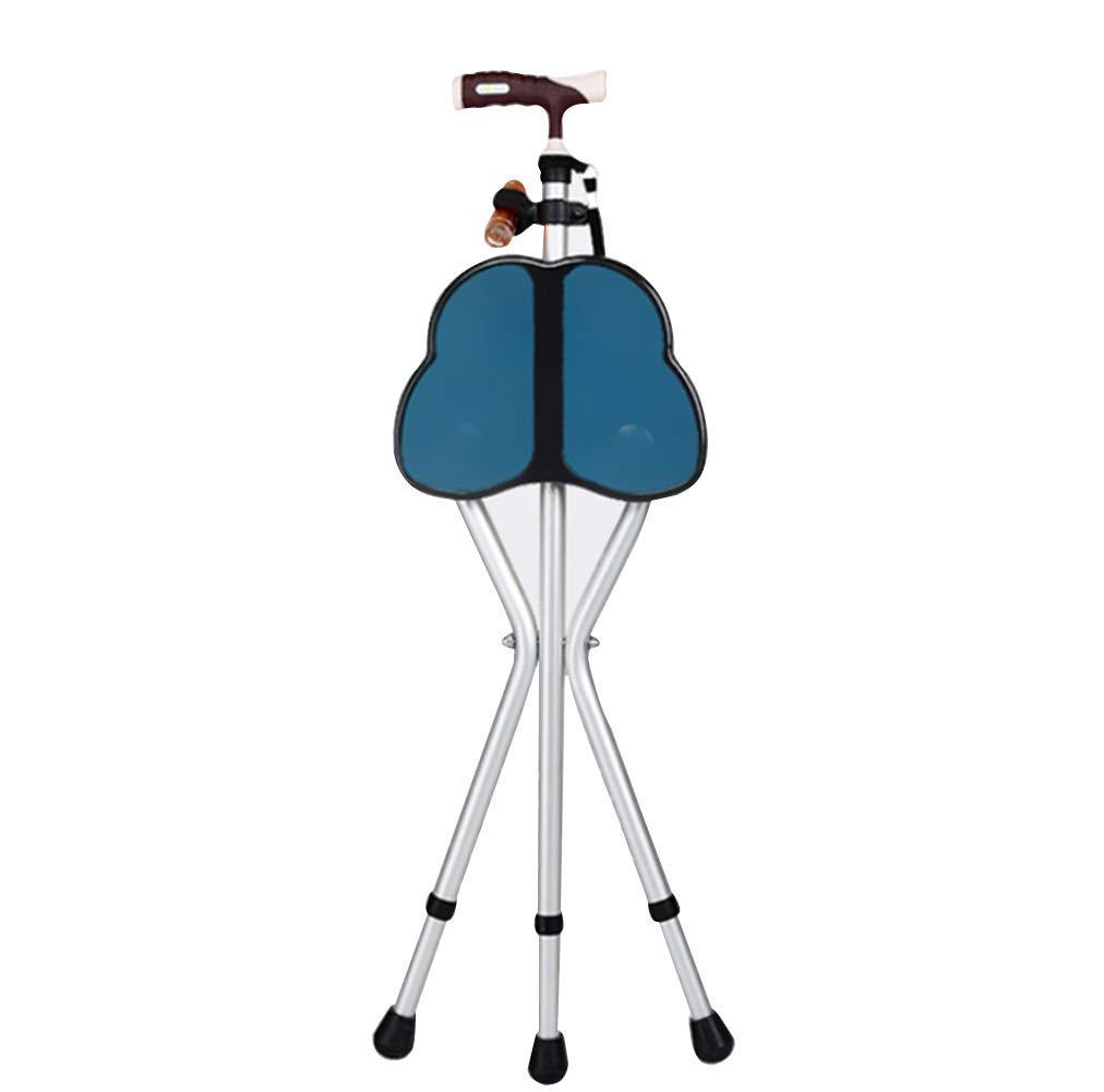 スペシャルオファ YGUOZ 折りたたみ 杖、医療ポータブル 調節可能な高さ 松葉杖シート 調節可能な高さ 松葉杖シート 杖チェア男性、女性用の杖歩行 B07PPNGVZG 32.5inch|blue blue 32.5inch 32.5inch|blue, denpcy:25cb5952 --- a0267596.xsph.ru