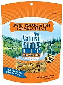 Natural Balance L.I.T. Limited Ingredient Treats Sweet Potato & Fish Formula Dry Dog Treats, 14-Ounce