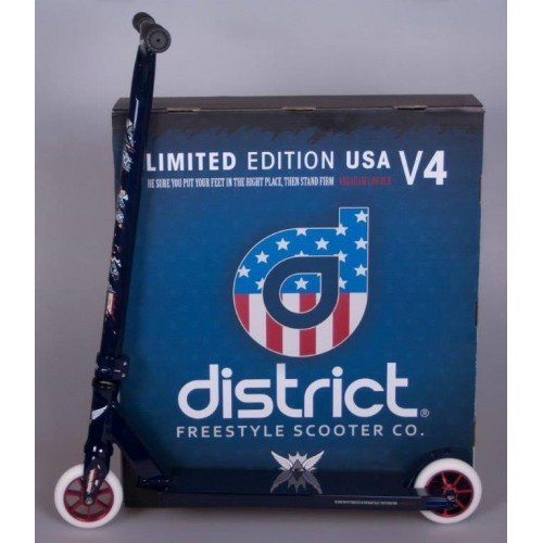 District - Patinete Scooter District Complete V4 100MM Uncle ...