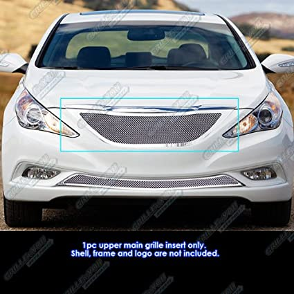 Amazon Com Aps Fits 2011 2012 Hyundai Sonata Stainless