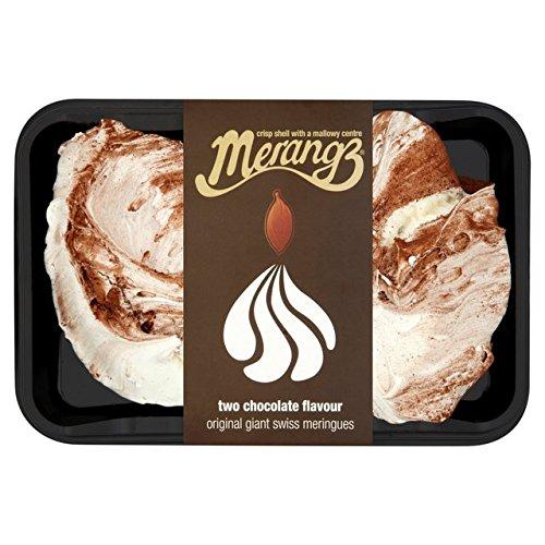 Merangz chocolate sabor gigantes suizos Merengues 2 por paquete: Amazon.es: Alimentación y bebidas