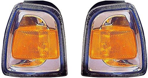 2006-2011 Ford Ranger Pair Driver and Passenger Side Front Signal Light CAPA FO2530171C For