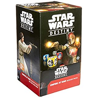 FFG SWD07 Star Wars Destiny: Empire at War Booster Display, Multicolor