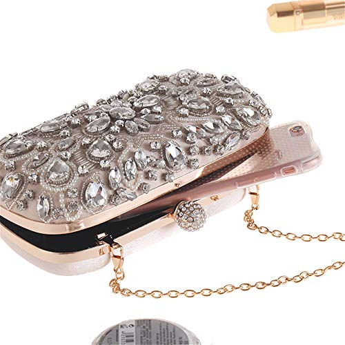 Special Black Sensexiao Clutches Bag Occasion Women Evening Handbags Crystal Purse Clutch Evening Color Bags Beige SzO8zWc1n