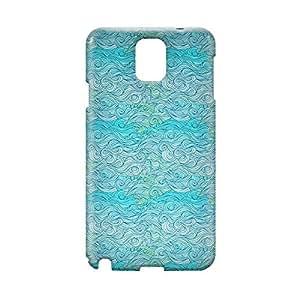 Waves Samsung Note 3 3D wrap around Case - Design 7