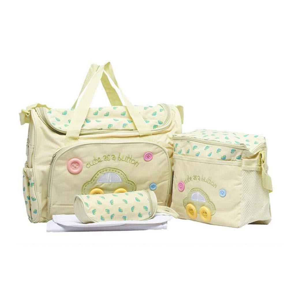 Pournei Mummy Hug - Bolso de pañ ales para bebé , multifunció n, multifunció n, Multifuncional, 4 Unidades multifunción