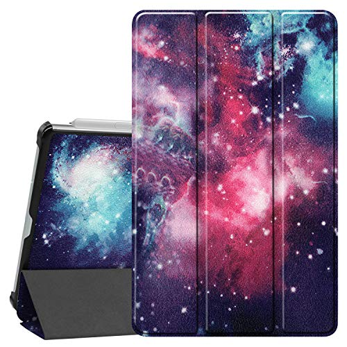 Smart Case for Galaxy Tab S6 Lite, Ratesell Lightweight Smart Trifold Stand Case Cover with Auto Sleep/Wake for Samsung Galaxy Tab S6 Lite 10.4 Inch Model SM-P610 / SM-P615 / SM-P617 Outer Space