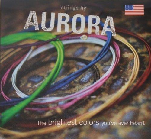Aurora Strings AURGOLD9-42 Premium Nickel Plated Electric Guitar Strings, - Premium Aurora