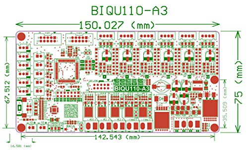 WitBot Open Source Tango V1.0 Upgrade Rumba 3D Printer Motherboard with TMC2130/A4988/DRV8825 Driver for 12864 LCD for Reprap Mendel by WitBot (Image #4)