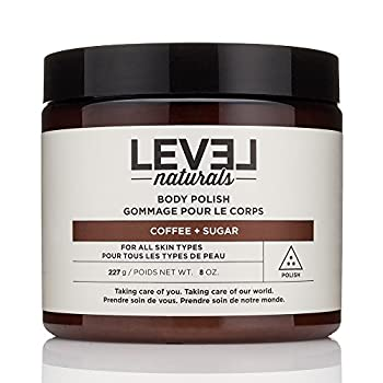 Level Naturals - Body Polish Coffee + Sugar - 8 oz.