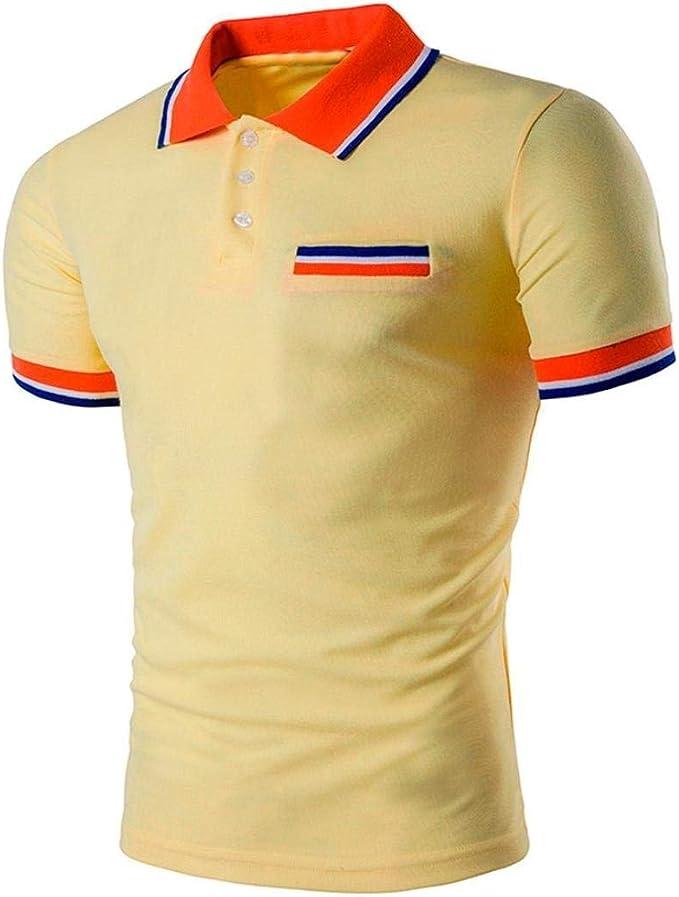 Camisas De Polo Hombres Retro Hombres del Diseño De La Media ...