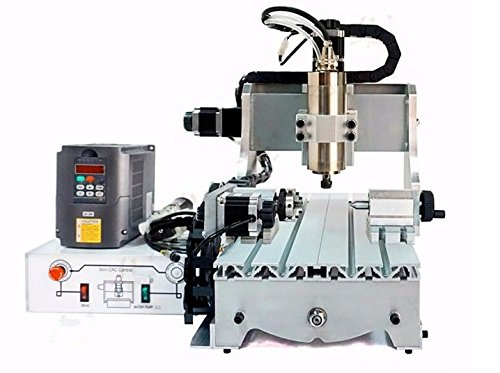 GOWE Mini CNC Milling Machine 4 Axis CNC Woodworking Router For Metal Cutting
