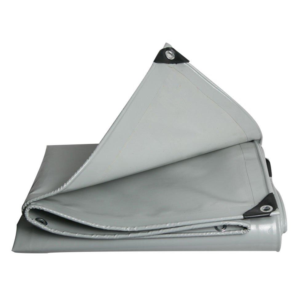 KKCF オーニング 耐寒性 日焼け止め 防塵の 耐酸性と耐アルカリ性 ポリ塩化ビニル 、厚さ:0.48mm 、600g / M 2 、6サイズ (色 : Gray, サイズ さいず : 4x4m) B07FXMD378 4x4m|Gray Gray 4x4m