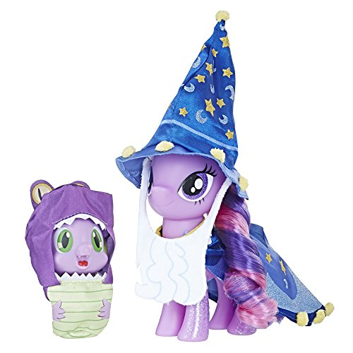 Bearded Dragon Outfits (My Little Pony Twilight Sparkle and Spike the Dragon Collector's Series Figures - Star Swirl the Bearded Outfit and Spell Book Package for Display (Amazon)