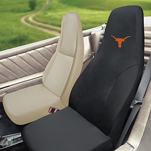 FANMATS NCAA University of Texas Longhorns Polyester Seat Cover