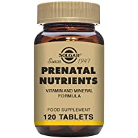 Solgar Prenatal Nutrients Tablets - Pack of 120