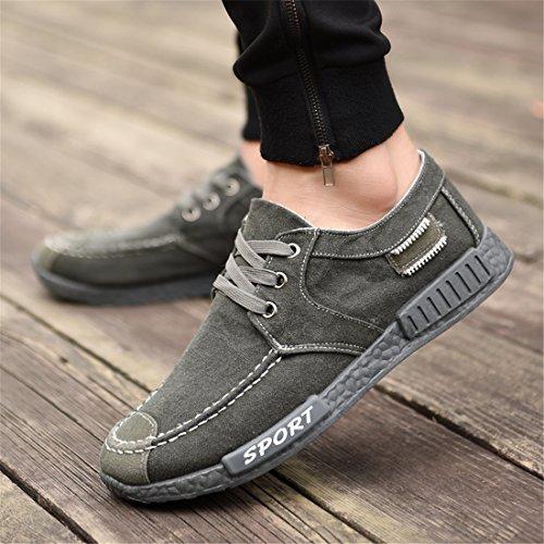 Respirant Multisports Chaussures Qianchuangyuan Athlétique Baskets Gym amp; Gris Homme Unisexe Femme Chaussure Légère Mode Sneakers chaussures Basses Course Outdoor Pour De wgPwUqF