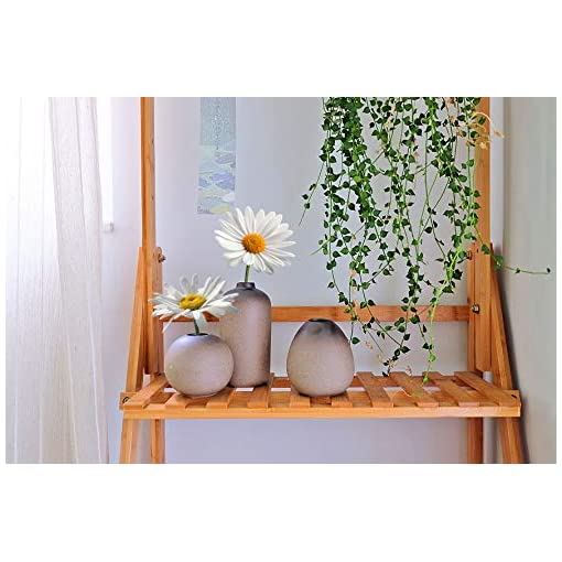 T4U Stile Antico Set di Vaso in Ceramica Decorazioni per la Casa Regalo Ideale per la Cerimonia Nuziale Vaso da Piante Idroponiche Vasi di Fiori Pacchetto di 3