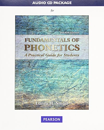 Audio CD Package for Fundamentals of Phonetics: A Practical Guide for Students (Fundamentals Of Phonetics A Practical Guide For Students)