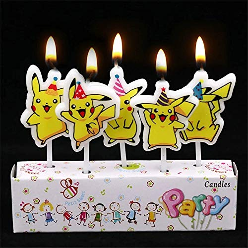 CharmTM PK Candles 5 Pack (Generic) Birthday Party