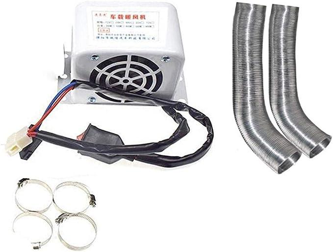Lancei Auto Heizung Elektrische Kfz Zusatzheizung 12v 600w 800w Scheibenheizung Für Winter Auto Air Outlet Küche Haushalt