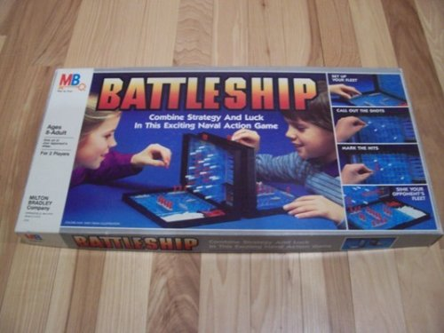 Battleship 1984 Edition Classic Sea Battle Game