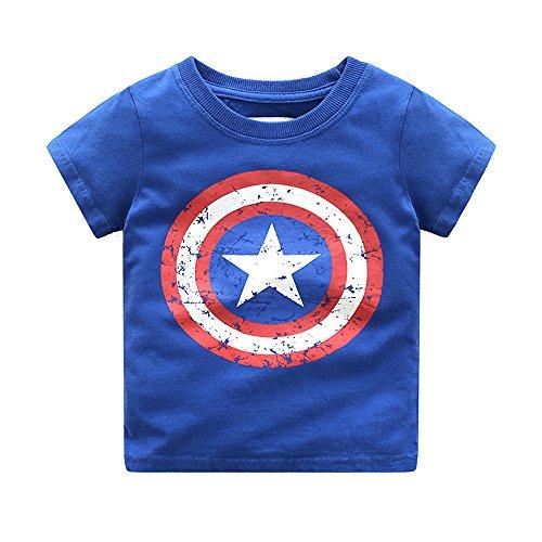 captain america toddler tee - 6
