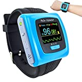 CONTEC CMS50F Wrist watch pulse oximeter heart rate monitor with software USB cable SPO2 Probe ...