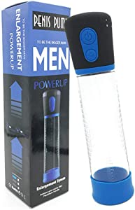 Electric Vacuum Pump with One Sleeves Automatic Battary, Male Training Device to Increase Stronger and Strength