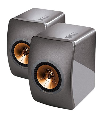 KEF LS50 Mini Monitor - Titanium Grey