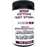 KETONE TEST STRIPS - 100 Count - KETO DIET - BULLET PROOF!
