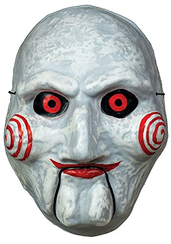 Jigsaw Killer Costumes (Trick or Treat Billy the Puppet Vacuform Mask-Standard)