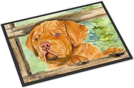 Caroline s Treasures SS8926MAT Dogue de Bordeaux Indoor Outdoor Mat 18×27 Doormat, 18H X 27W, Multicolor