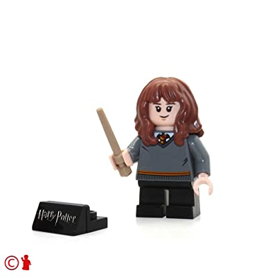 LEGO 2020 Harry Potter Minifigure - Hermione (Gryffindor Sweater, with Wand) 75954: Toys & Games
