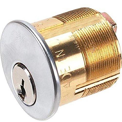 DETEX Mortise Key Lock Cylinder - for EAX500, EAX2500, MC65 102281-7