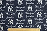 new york yankee cotton fabric - New York Yankees MLB Baseball 58