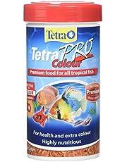 Tetra TetraPro Colour Premium Fish Food for All Tropical Fish, 55g