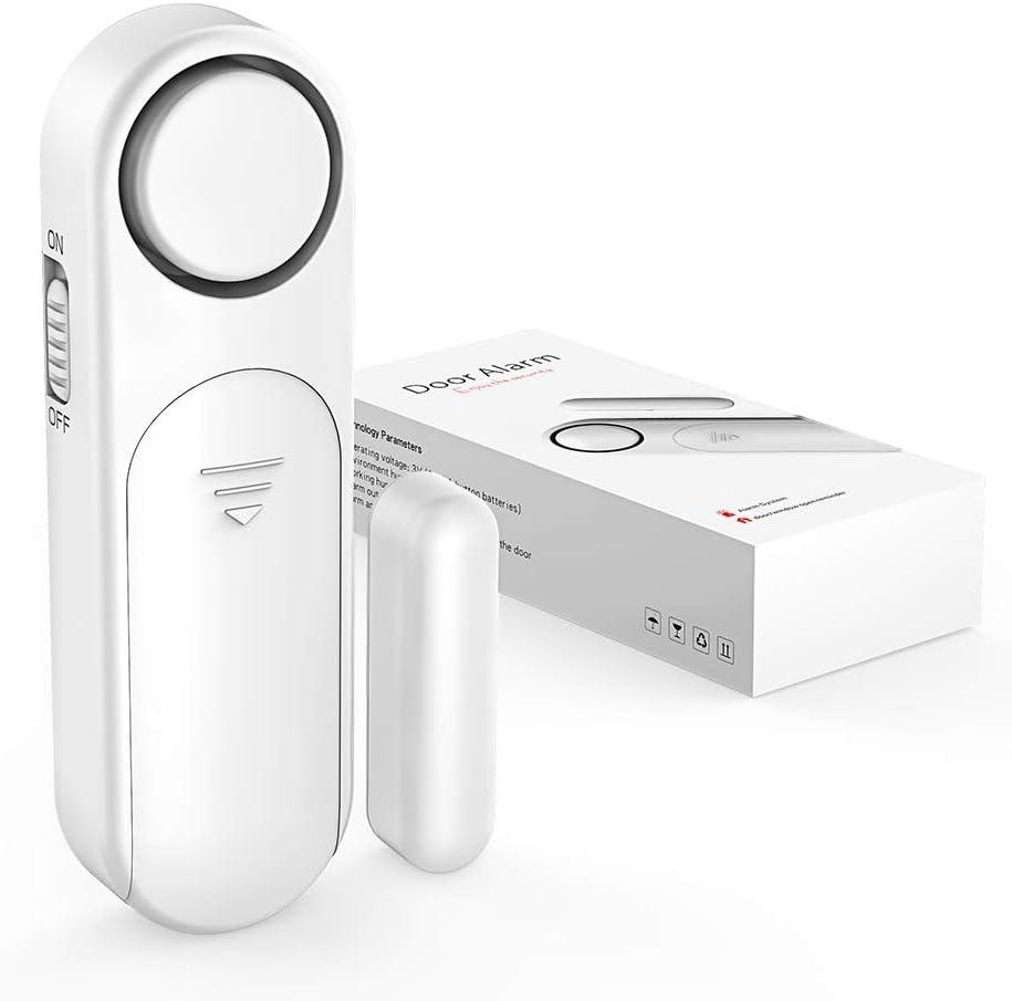 Door Sensor Alarm, Door Sensor 400dB Wireless Window Alarm 40 Alarms Modes  Burglar Anti Theft for Kids Safety Home Shop Security