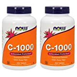 Now Foods Vitamin C-1000 Sustained Release with Rose Hips 250 Tabs (500 (250 X 2)) Review