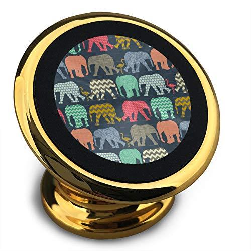 Baerg Universal Magnetic Phone Car Mounts Magnet Holder Elephant Flamingo Art Magnetic Mount for Phone 360¡ã Rotation